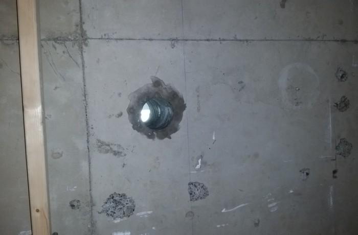 Håltagning i betong